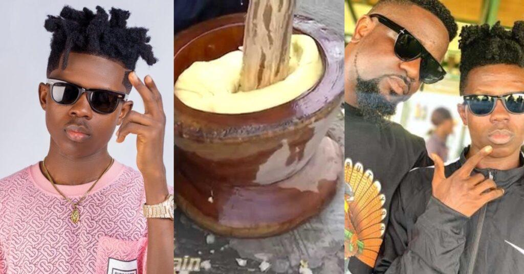 Gossip: Strongman spent his whole life pounding fufu for Sarkodie's - Video 2