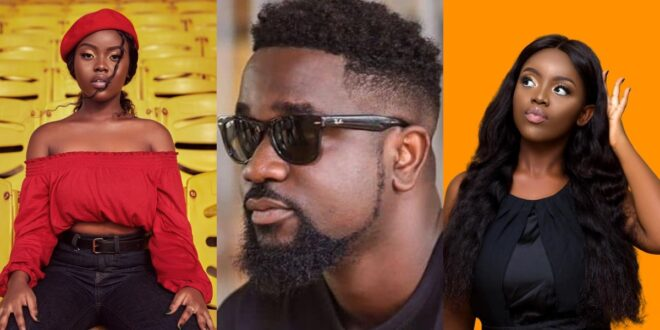 """I decided not to bath when I first hug Sarkodie""- Gyakie 1"
