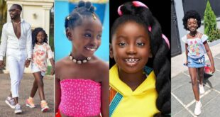 I look like a boy - Okyeame Kwame's daughter cries after cutting off her long hair - Photos 15