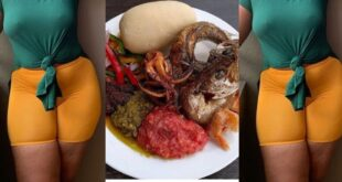 I prepared banku and pepper with my menstrual bl00d for my cheating boyfriend for five years - Lady reveals 85