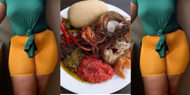 I prepared banku and pepper with my menstrual bl00d for my cheating boyfriend for five years - Lady reveals 1