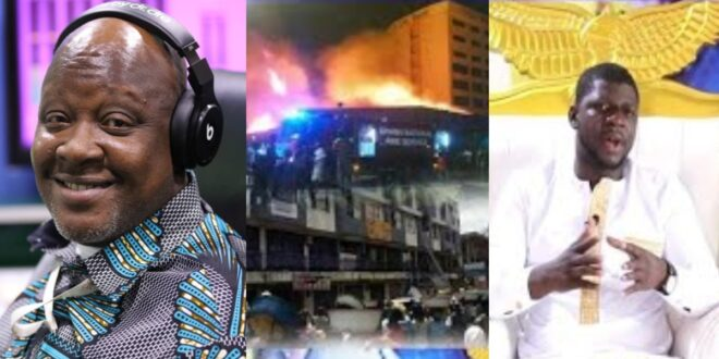 """I saw in a vision, Kwame Sefa Kayi collapsed and Peace FM burnt to ashes""- Prophet says (video) 1"