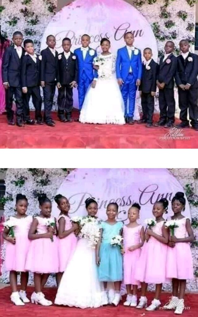 See photos Of The Youngest Kids Who Got Married 7