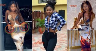 Is Efia Odo bleaching? Check out her latest photos 8