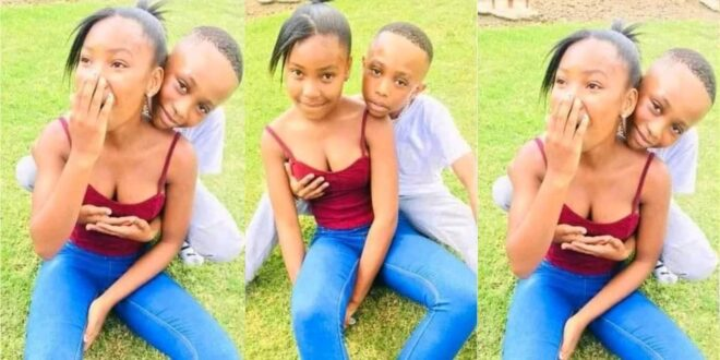 Is this OK? See these pictures of two kids trending online (photos) 1