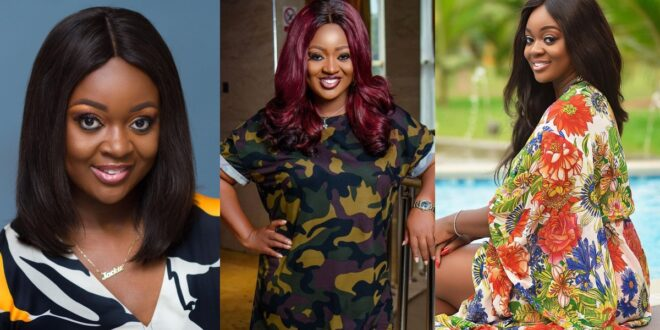 Jackie Appiah storms the internet as she dresses like a Soldier in new photos 1