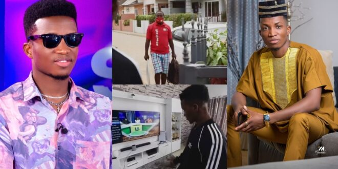 Kofi Kinaata shows his lavish mansion for the first time (video) 1