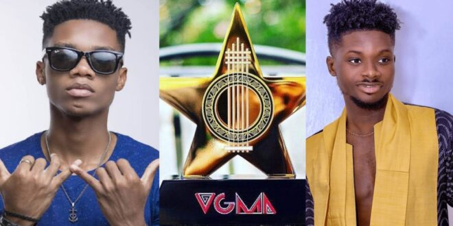 """Kuami Eugene should forget about VGMA artist of the year, I'm winning""- Kidi 1"