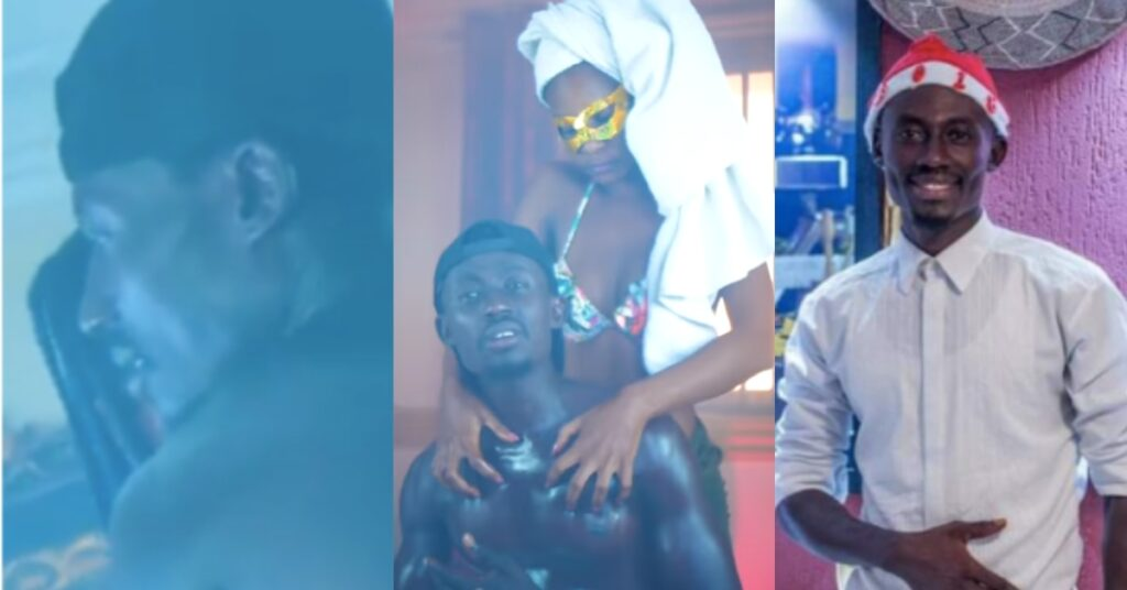 Kumerican Lady takes 170ghc to be ch0pped in music video of Mr Prince - Video 2