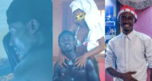Kumerican Lady takes 170ghc to be ch0pped in music video of Mr Prince - Video 35