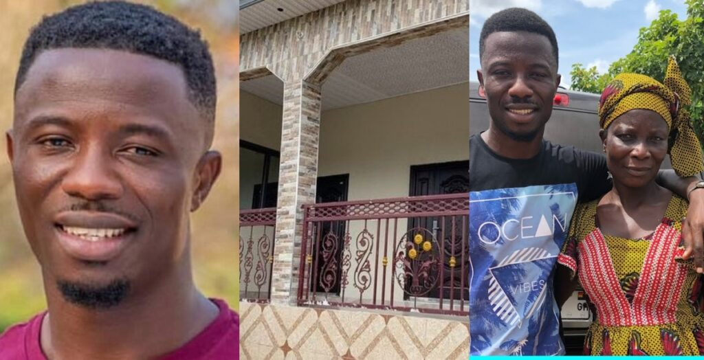 Kwaku Manu displays the beautiful house he has built for his parents - Video 2