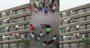 Legon students finally explain how their colleague fell from the 4th floor - Video 29