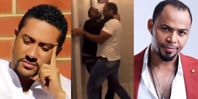 Majid Michel and Ramsey Noah spotted fighting in a video. 1