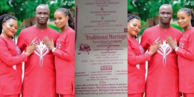 Man set to marry two beautiful women on the same day. 1