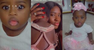 Medikal and Fella Makafui's daughter stuns the internet in a new video 7