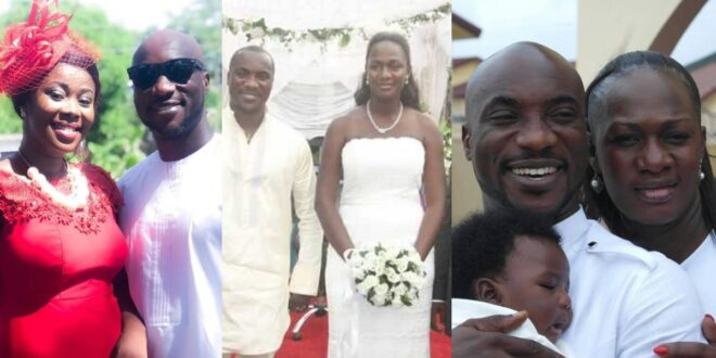 See photos of the two beautiful ex-wives of Kwabena Kwabena 1
