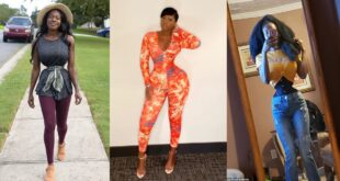 Meet the lady who is competing with Princess Shyngle for a tiny waist 6