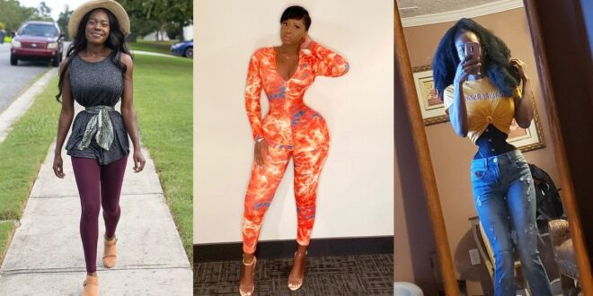 Meet the lady who is competing with Princess Shyngle for a tiny waist 1