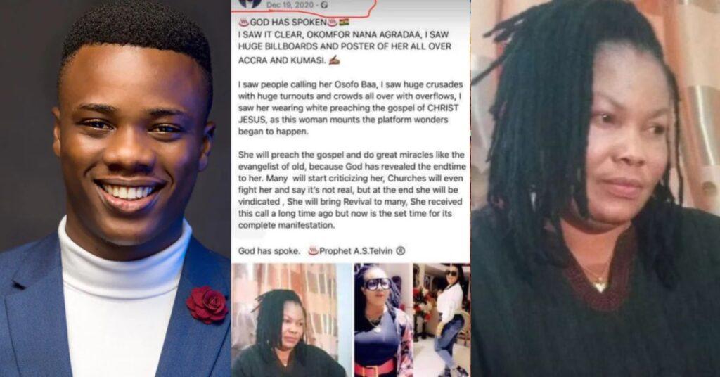 Meet the young Prophet who predicted Nana Agradaa will become a pastor - Photos 2