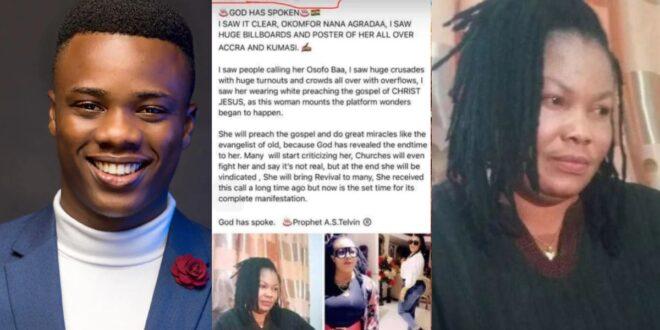 Meet the young Prophet who predicted Nana Agradaa will become a pastor - Photos 1
