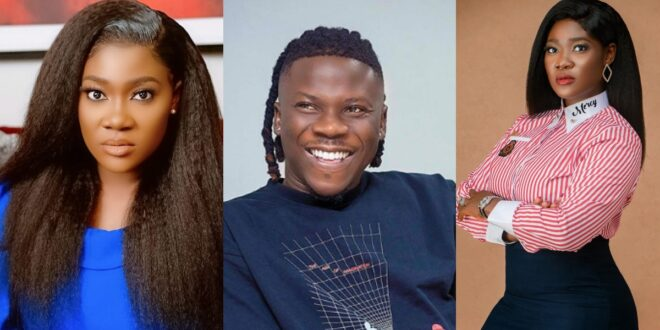 Mercy Johnson jams and sings correctly to Stonebwoy's 'Putuu' song in a new Video 1