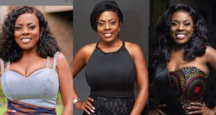 Nana Aba Anamoah reveals she will be contesting for MP in 2024. 1