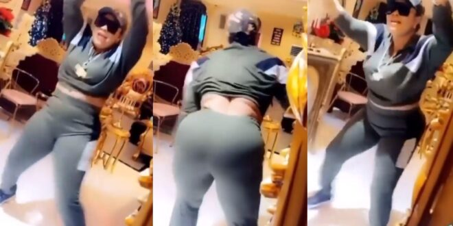 Nana Agradaa twerks hard on Rev Obofour in a new video 1