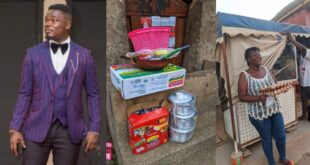 Nana Tea Supports a Single Mother in Starting Her Own Indomie Business (+PHOTOS) 127