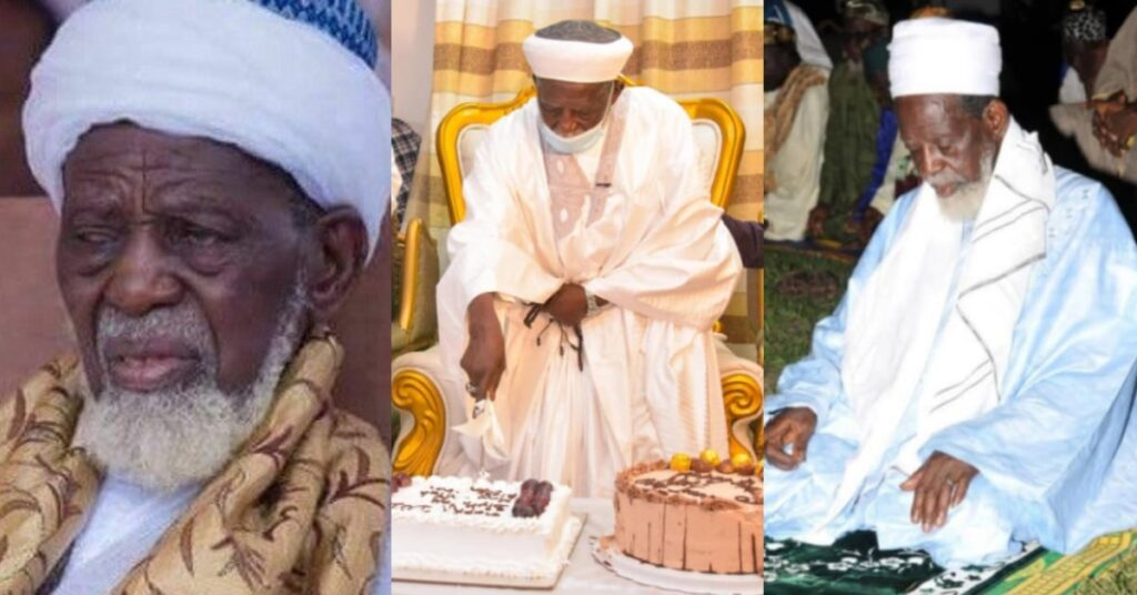 National Chief Imam is 102 years old today - Bawumia and others celebrates him 2