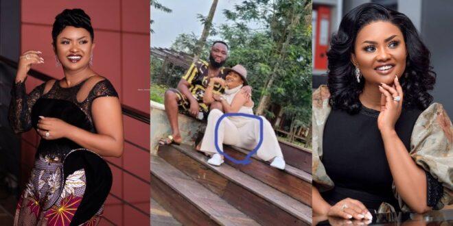 Netizens blast Nana Ama Mcbrown for wearing fake hip pad - Photo 1