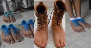Netizens react as photos of human-feet shoes pops up 22