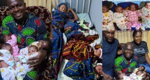 Nigerian Woman Beautifully Welcomes Quadruplets After 16 Years Of Marriage - Photos 27