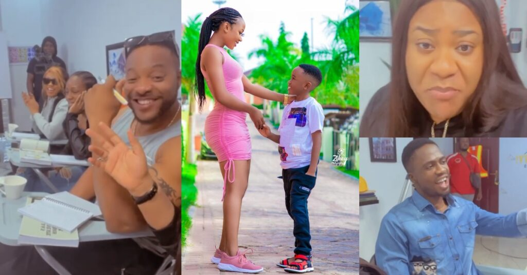 Nigerian Celebrities Composes song for Akuapem Poloo after her bail - Video 2