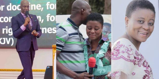 Photos of the beautiful wife of Prophet Kofi Oduro surfaces 1