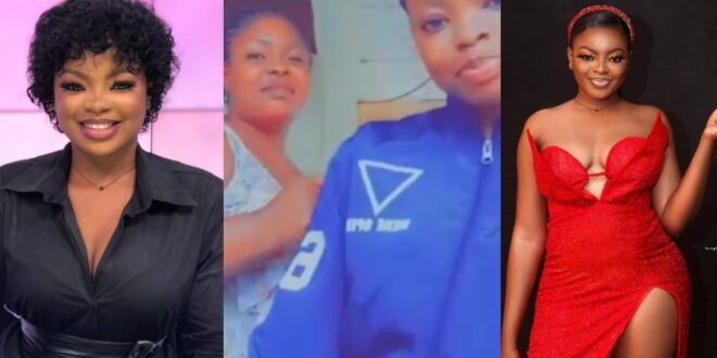 Rose of Date Rush shows off her 'indomie seller' mother as she begs people to buy from her - Video 1