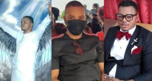Sad looking photos of Angel Obinim at his father's One-week celebration surfaces 7