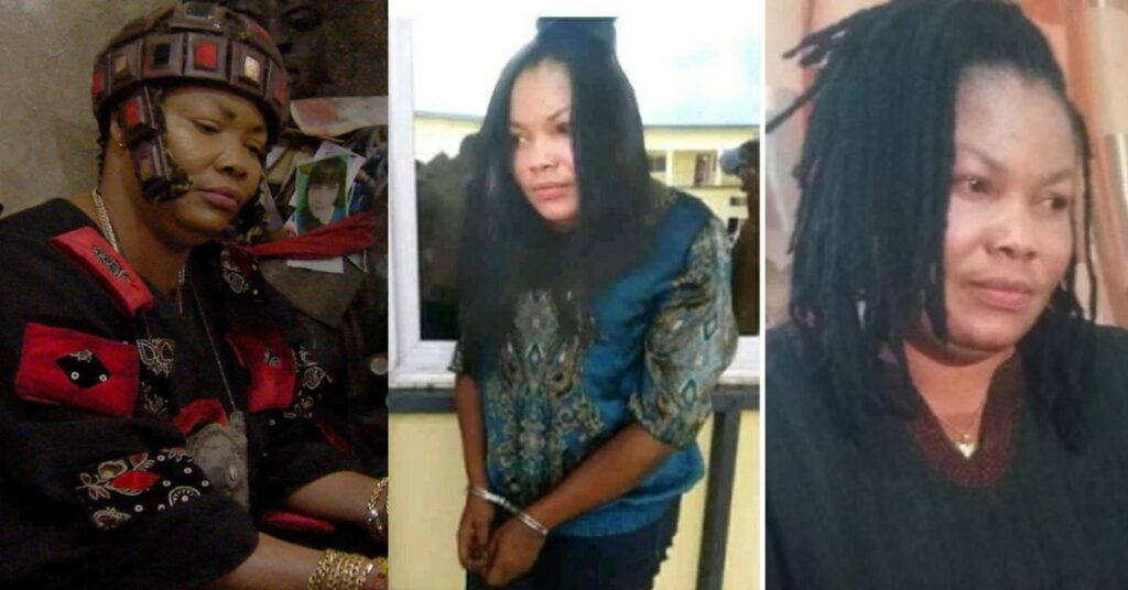 Sad photos of powerless Nana Agradaa in handcuff as she is being arrested again surfaces 2