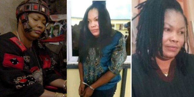 Sad photos of powerless Nana Agradaa in handcuff as she is being arrested again surfaces 1