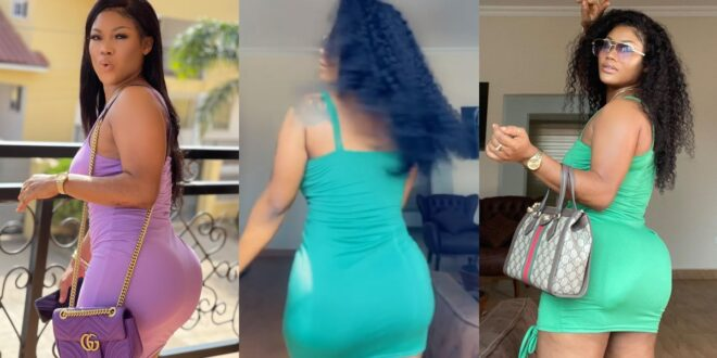 Sandra Ababio displays her beautiful curves in a dance video 1