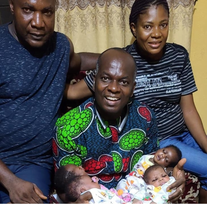 Nigerian Woman Beautifully Welcomes Quadruplets After 16 Years Of Marriage - Photos 7