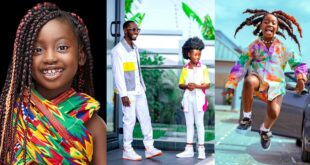 See 10 beautiful photos of Okyeame Kwame's daughter that proves she is a star girl 1
