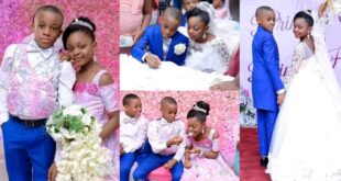 See photos Of The Youngest Kids Who Got Married 25