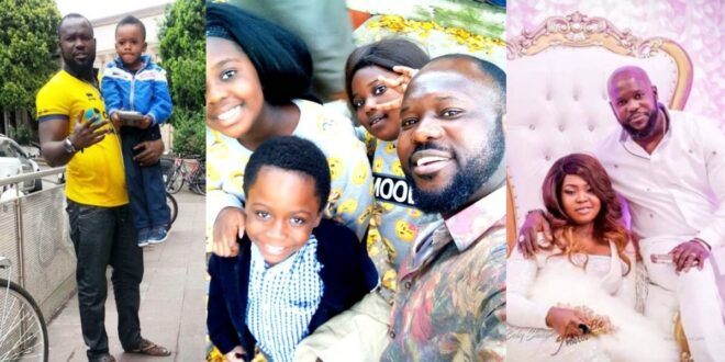 See pictures of Kumawood actor Isaac Amoako, his wife, and kids (photos) 1