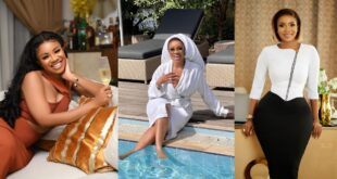 Serwaa Amihere displays her good life with pool chilling Photos 15