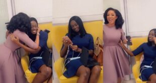 Serwaa Amihere gives a warm welcome to Natalie Fort as starts work at GHOne - Video 39