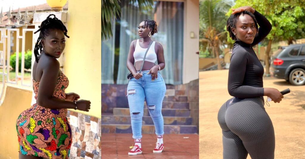 Shatta's girl, Choqolate wows fans with new beautiful photos 2
