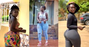 Shatta's girl, Choqolate wows fans with new beautiful photos 22
