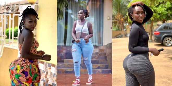 Shatta's girl, Choqolate wows fans with new beautiful photos 1