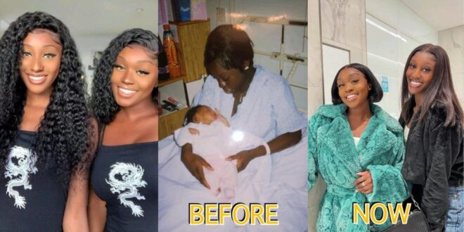 She refused Abortion at age 17, now her daughter is old and looks like her twin (photos) 1