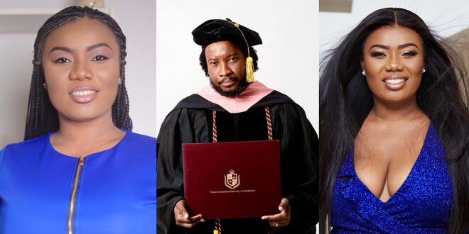 """""""Sonnie Badu has been fake all this while, it is not today""""- Bridget Otoo exposes singer 1"""